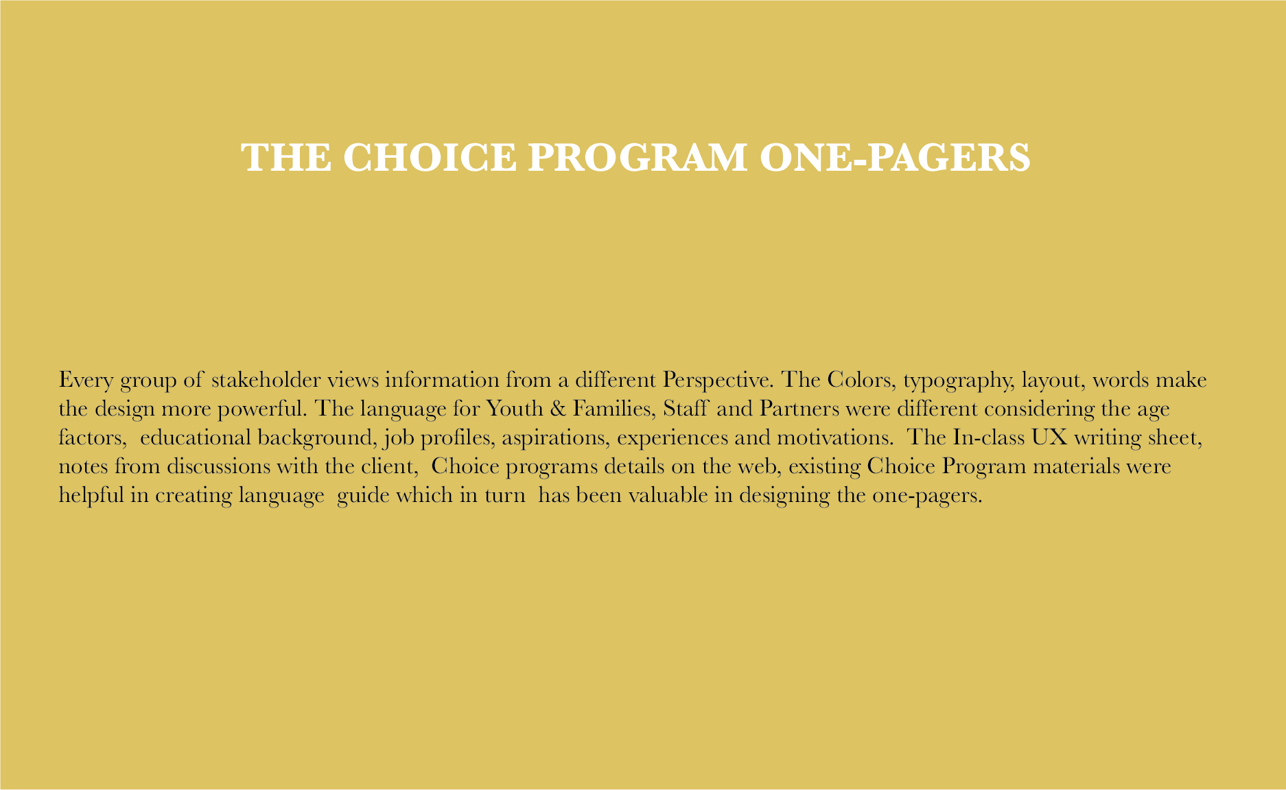 8. Choice 1-pagers main