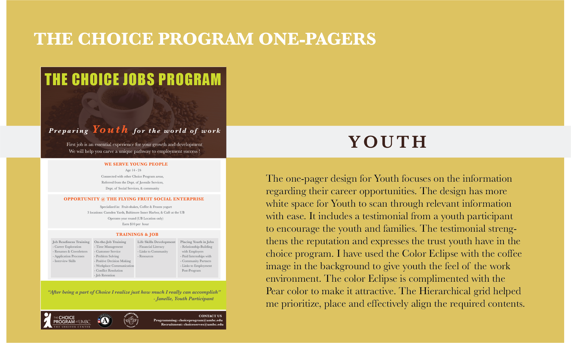 9. Choice 1-pagers_youth